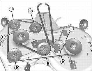John Deere La175 54 Mower Deck Parts Diagram further OMM141871 D011 as well John Deere Mower Deck also John Deere 54 Deck Parts Diagram besides 42 Inch Murray Lawn Mower Drive Belt Diagram. on john deere 48 inch mower deck parts